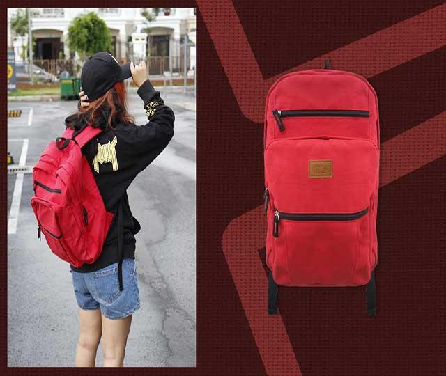 packback đỏ